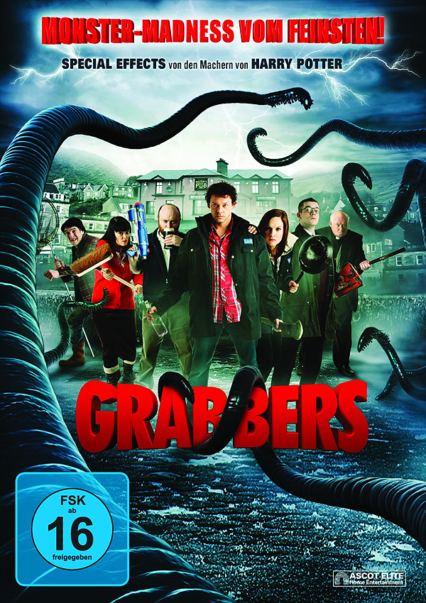 Grabbers - Blu-ray DVD Cover FSK 16