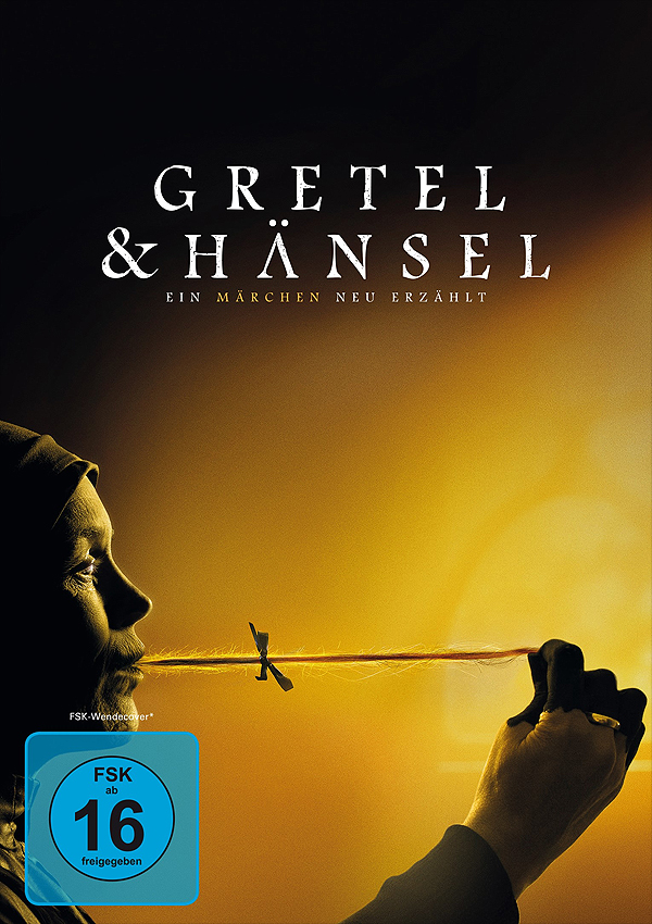 Gretel & Hänsel - DVD Blu-ray Cover FSK 16