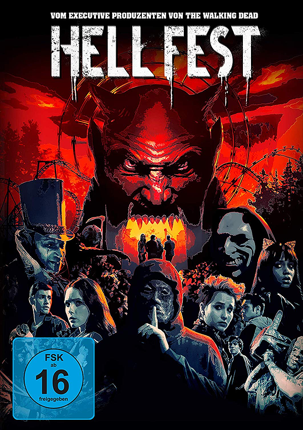Hell Fest - Blu-ray DVD Cover FSK 16