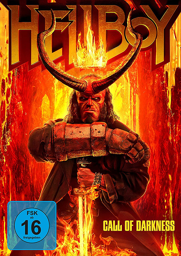 Hellboy: Call of Darkness - DVD Blu-ray Cover FSK 16