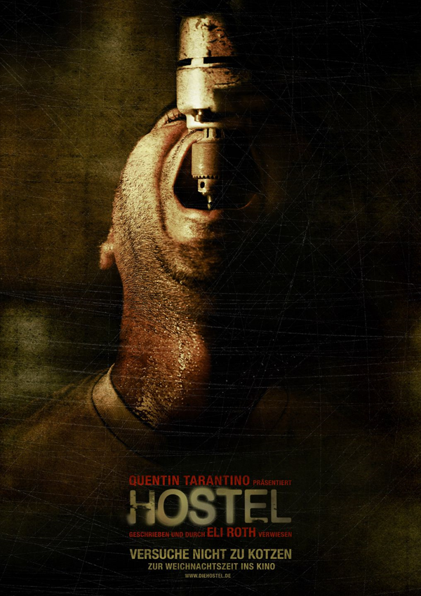 Hostel - DVD Blu-ray Cover Spio/JK