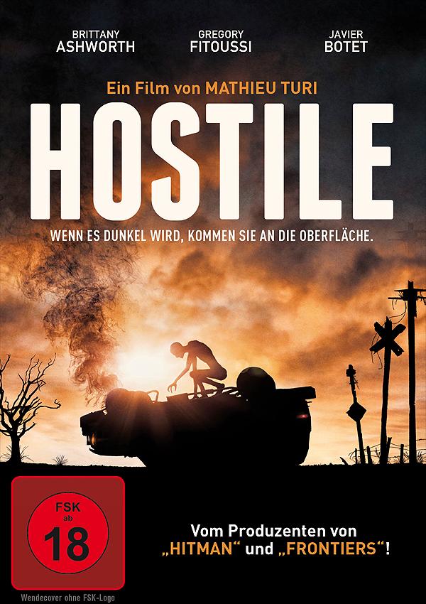 Hostile - Blu-ray DVD Cover FSK 18