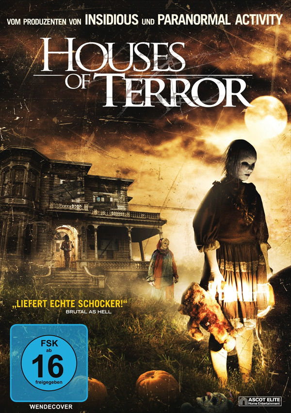 Houses of Terror - DVD Blu-ray Cover FSK 16