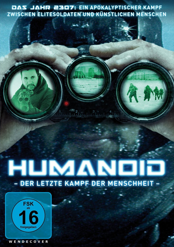 Humanoid - DVD Blu-ray Cover FSK 16