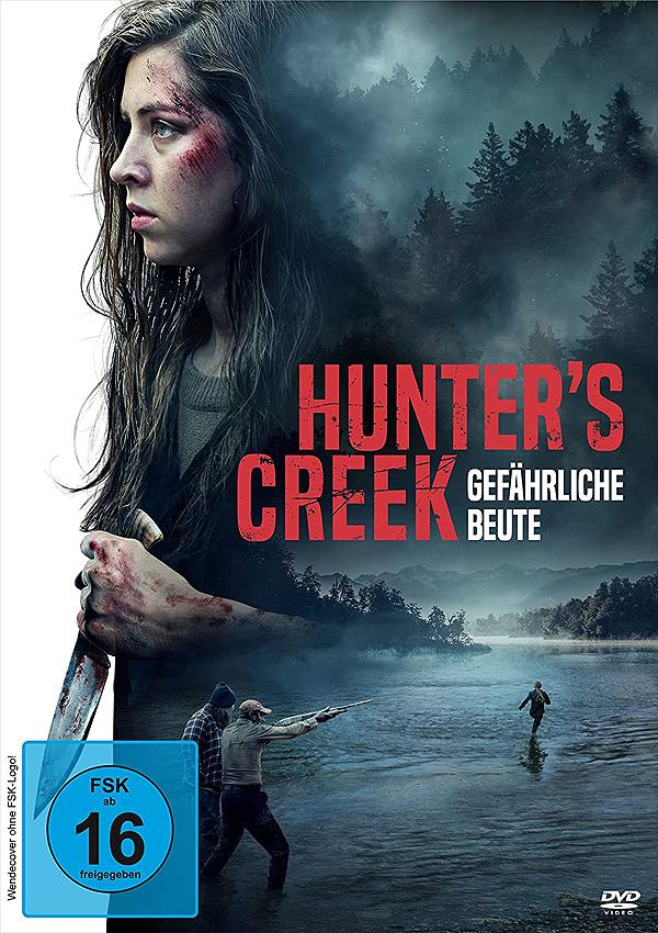Hunter's Creek - DVD Blu-ray Cover FSK 16