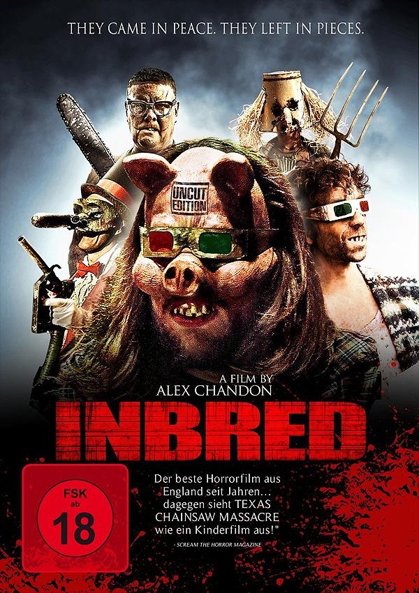 Inbred - Blu-ray DVD Cover FSK 16