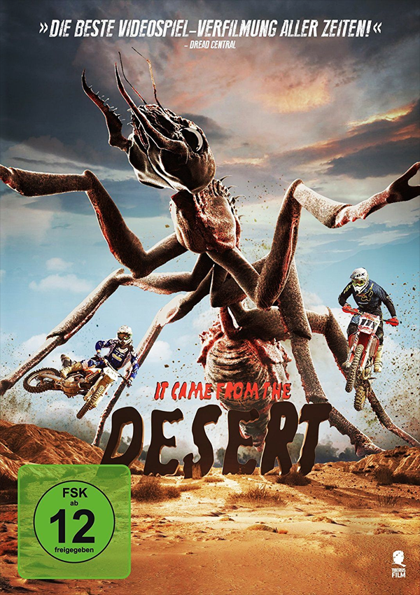 It came from the Desert - Blu-ray DVD Cover FSK 12