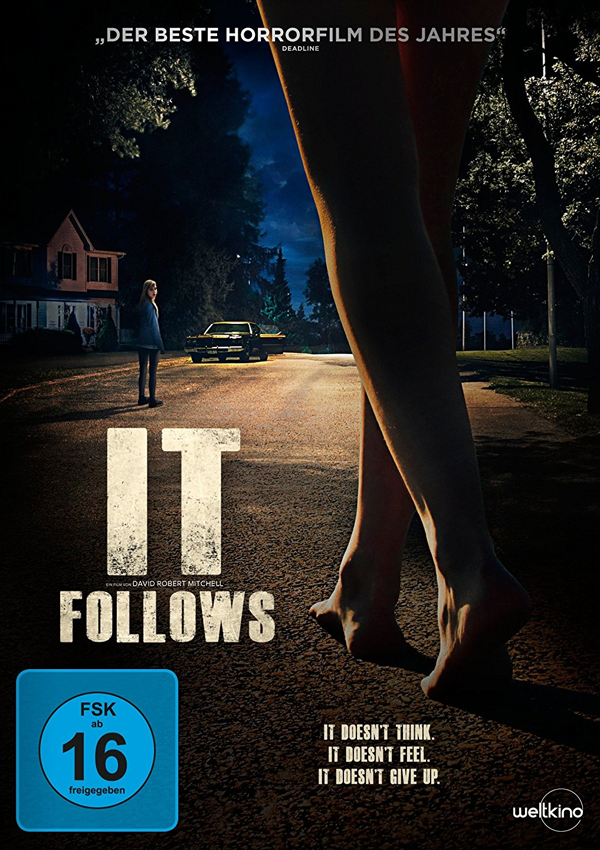 It Follows - Blu-ray DVD Cover FSK 16