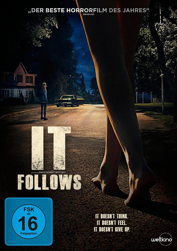 It Follows - Blu-ray DVD Cover FSK 16