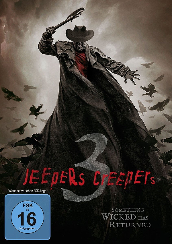 Jeepers Creepers 3 - Blu-ray DVD Cover FSK 16