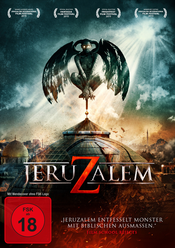 JeruZalem - DVD Blu-ray Cover FSK 18