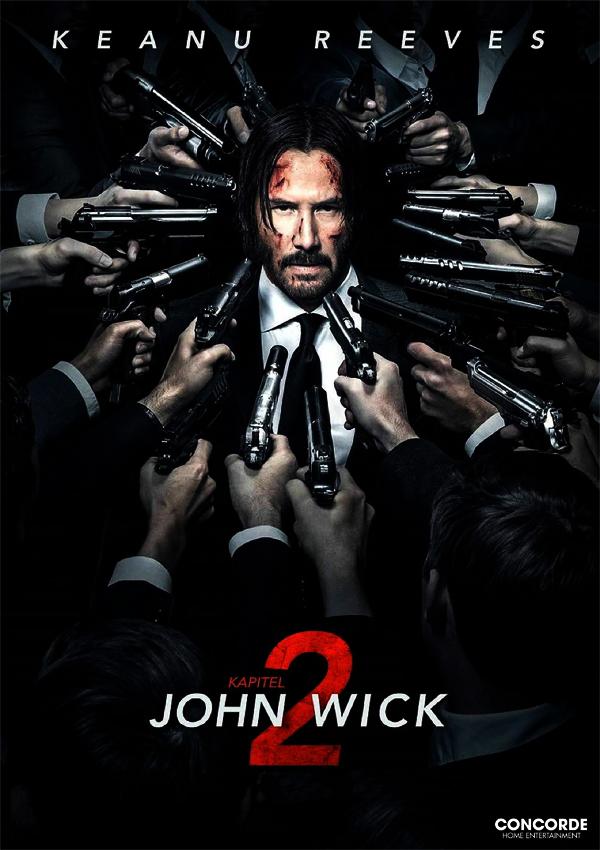 John Wick: Kapitel 2 - Poster FSK 18