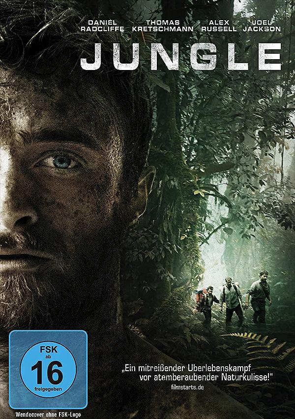 Jungle - Blu-ray DVD Cover FSK 16
