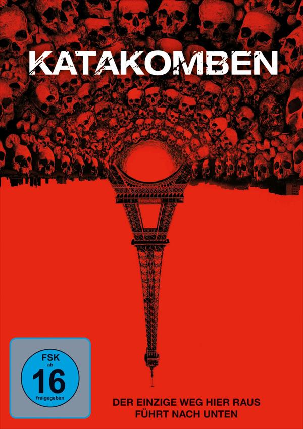 Katakomben - DVD Blu-ray Cover FSK 16