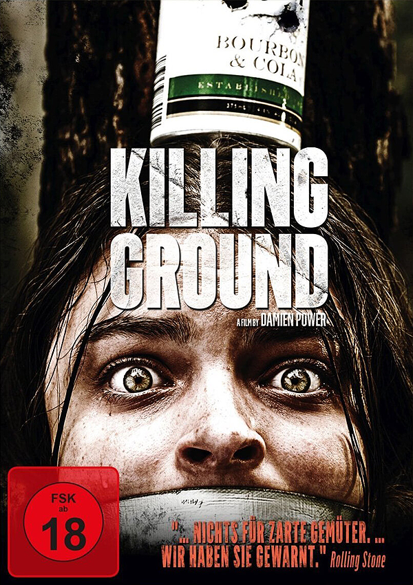 Killing Ground - Blu-ray DVD Cover FSK 18