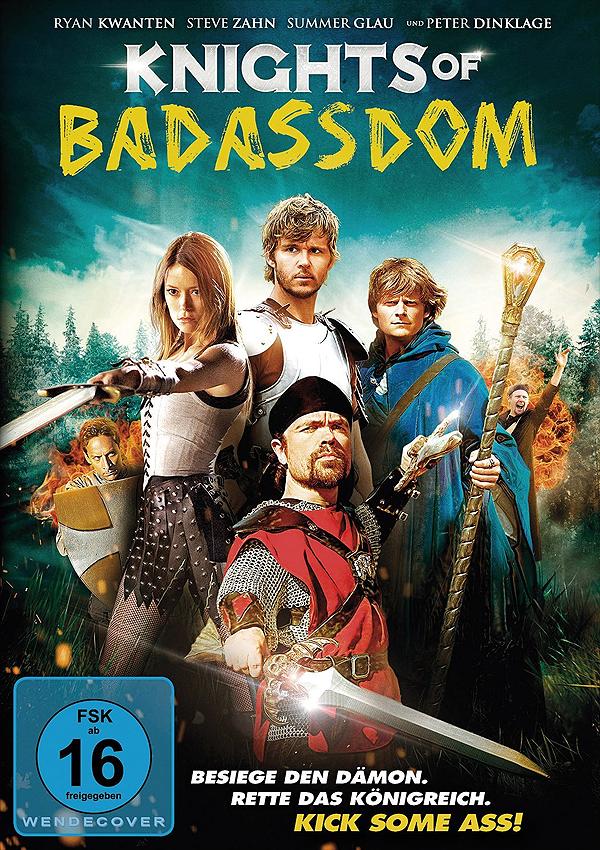 Knights of Badassdom - Blu-ray DVD Cover FSK 16