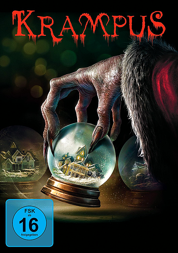 Krampus - Blu-ray DVD Cover FSK 16