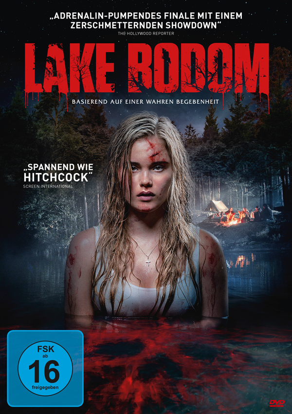 Lake Bodom - Blu-ray DVD Cover FSK 16