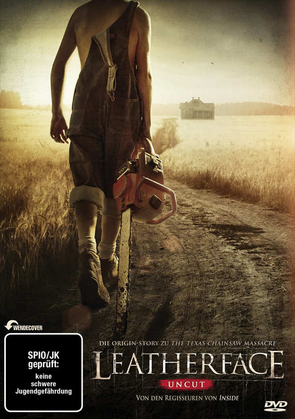 Leatherface - Blu-ray DVD Cover Spio/JK