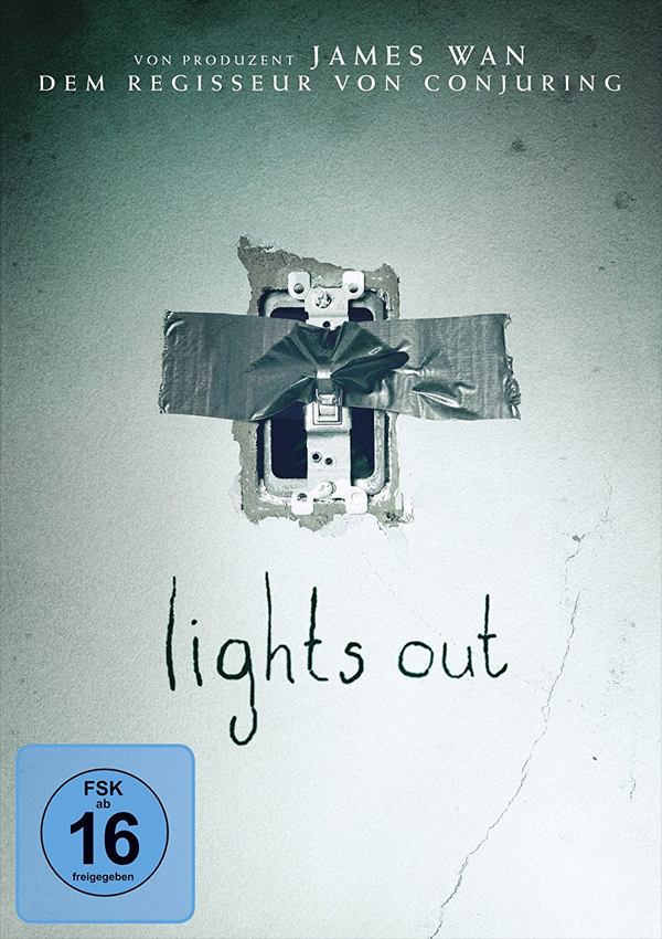 Lights Out - DVD Blu-ray Cover FSK 16