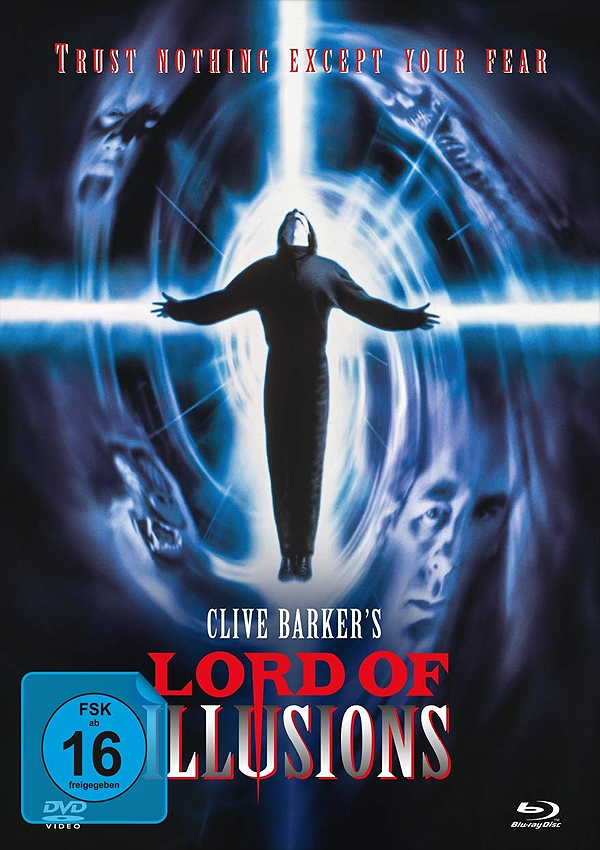 Lord of Illusions - Blu-ray DVD Mediabook Cover FSK 16