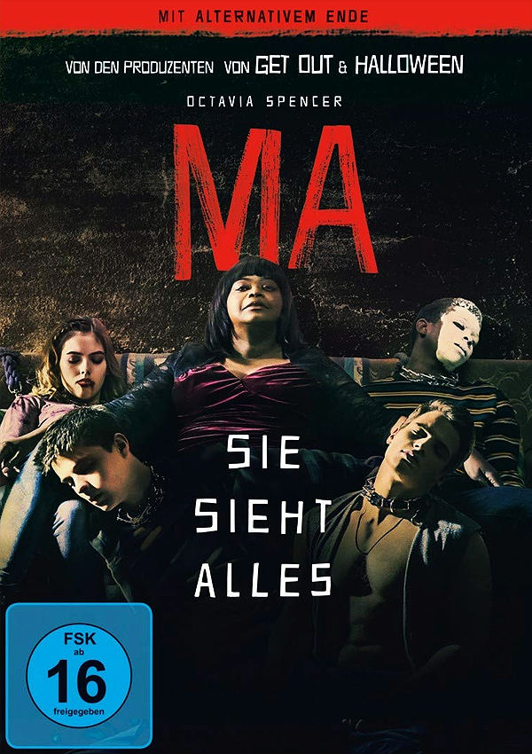 Ma - DVD Blu-ray Cover FSK 16