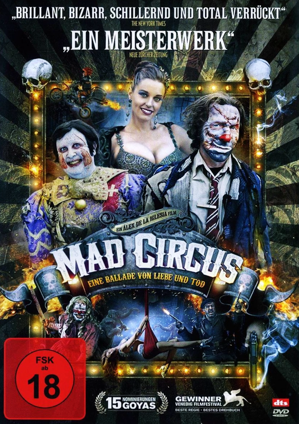Mad Circus - DVD Blu-ray Cover FSK 18