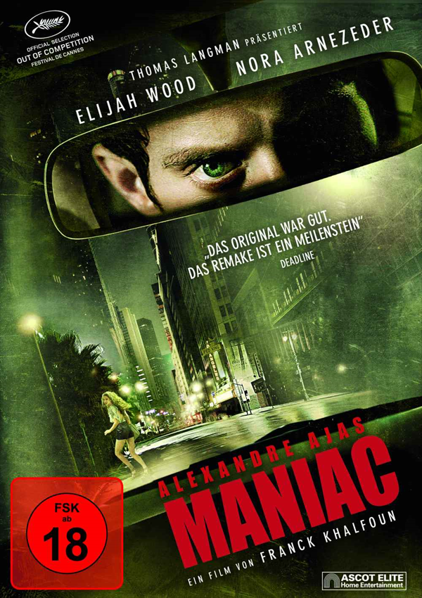 Maniac - DVD Blu-ray Cover Spio/JK
