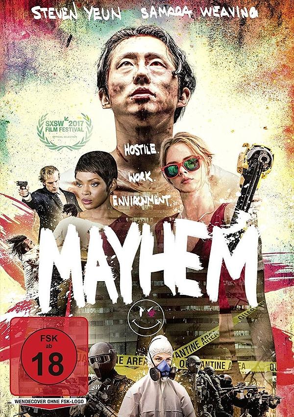 Mayhem - Blu-ray DVD Cover FSK 18