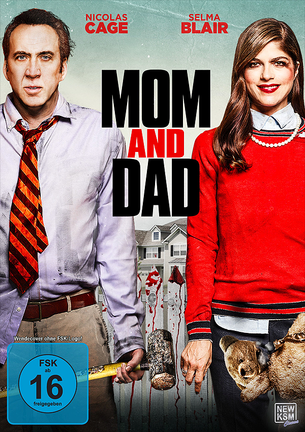 Mom and Dad - Blu-ray DVD Cover FSK 16