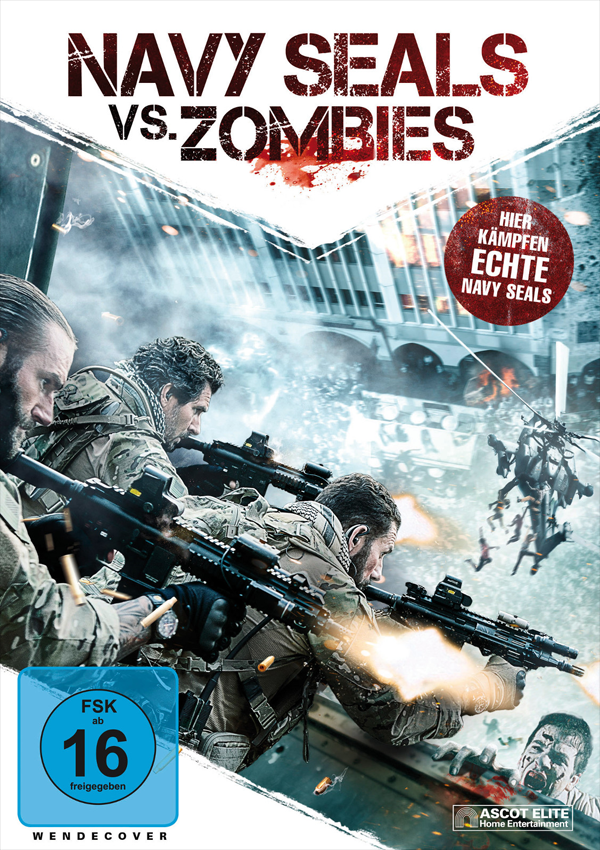 Navy SEALs vs. Zombies - DVD Blu-ray Cover FSK 16