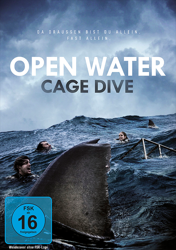 Open Water: Cage Dive - Blu-ray DVD Cover FSK 16