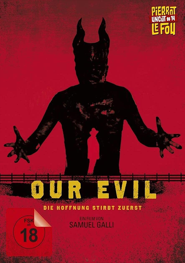 Our Evil - Blu-ray DVD Cover FSK 18