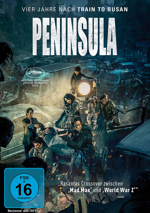 Peninsula - DVD Blu-ray Cover FSK 16