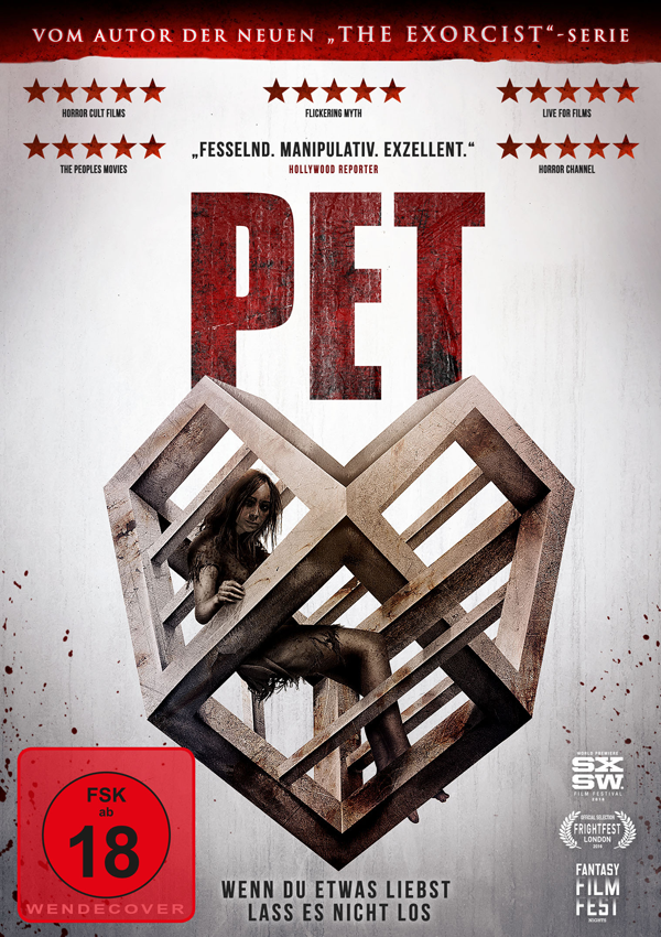PET - DVD Blu-ray Cover FSK 18
