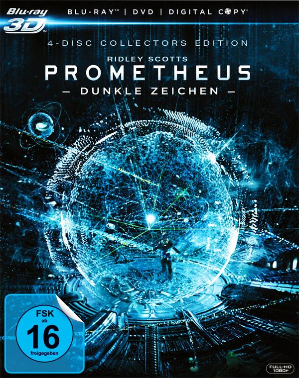 Prometheus - Blu-ray DVD Cover FSK 16