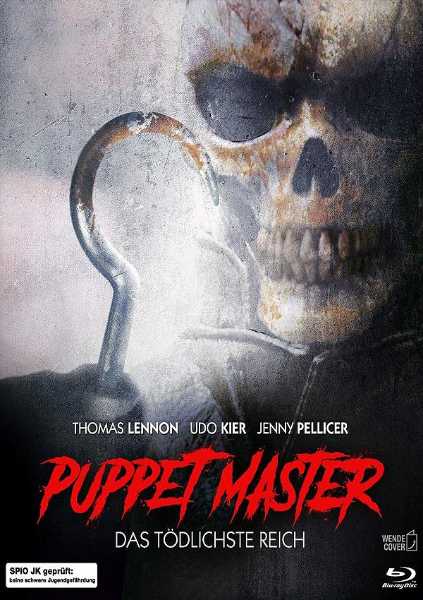 Puppet Master: Das Tödlichste Reich - Blu-ray Cover Spio/JK
