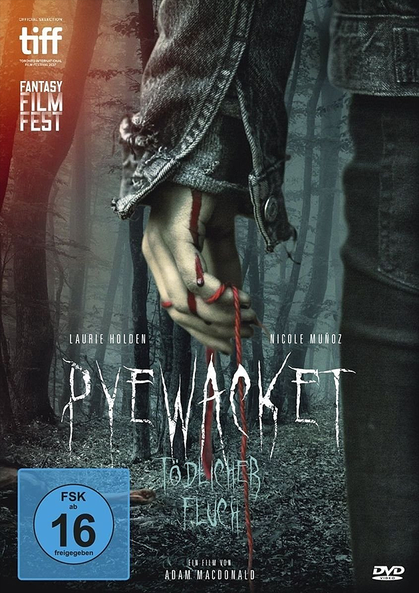 Pyewacket - Blu-ray DVD Cover FSK 16
