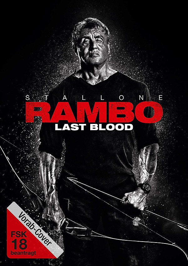 Rambo: Last Blood - DVD Blu-ray Cover FSK 18