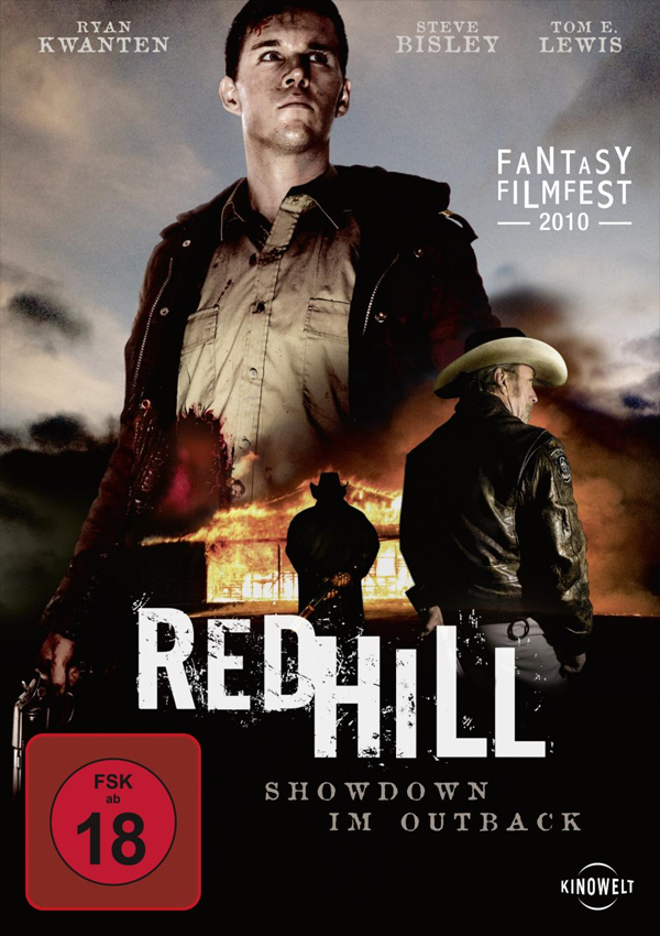Red Hill - DVD Blu-ray Cover FSK 18