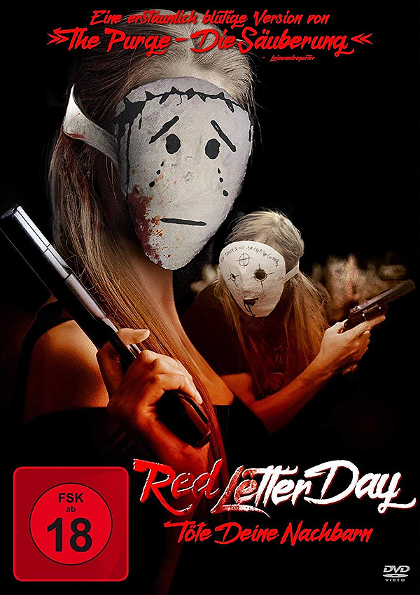 Red Letter Day - DVD Blu-ray Cover FSK 18