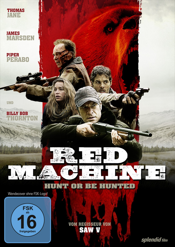 Red Machine - Blu-ray DVD Cover FSK 16