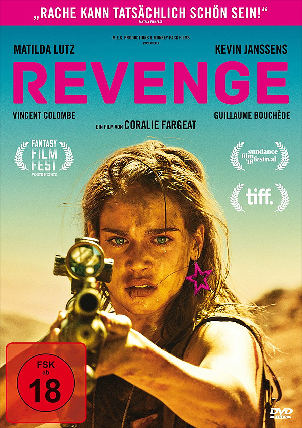 Revenge - Blu-ray DVD Cover FSK 18
