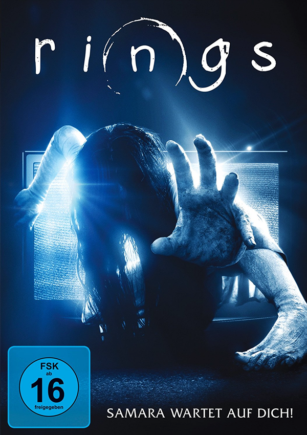 Rings - Blu-ray DVD Cover FSK 16
