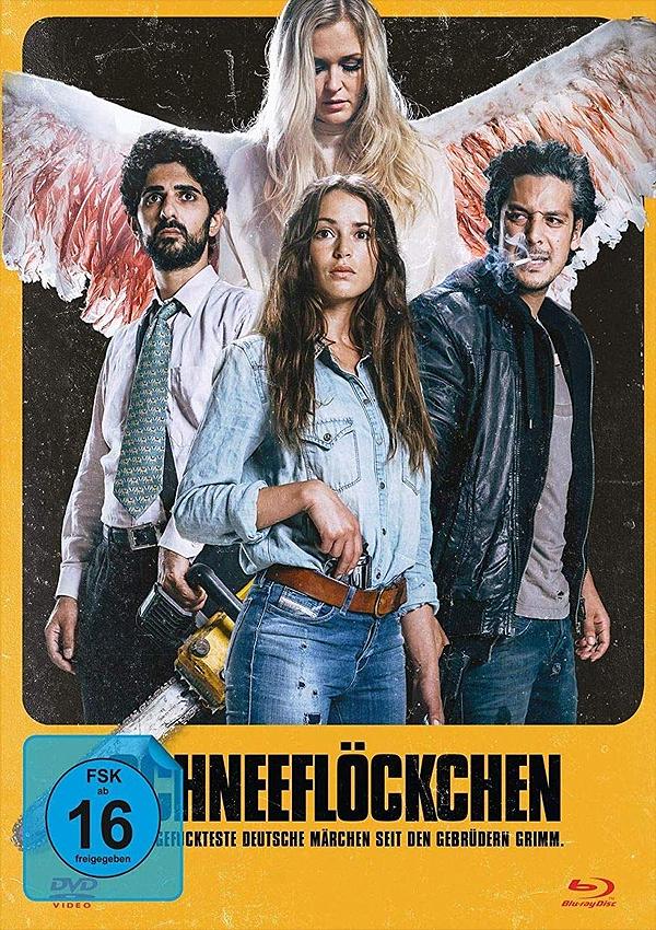 Schneeflöckchen - Blu-ray DVD Cover FSK 16