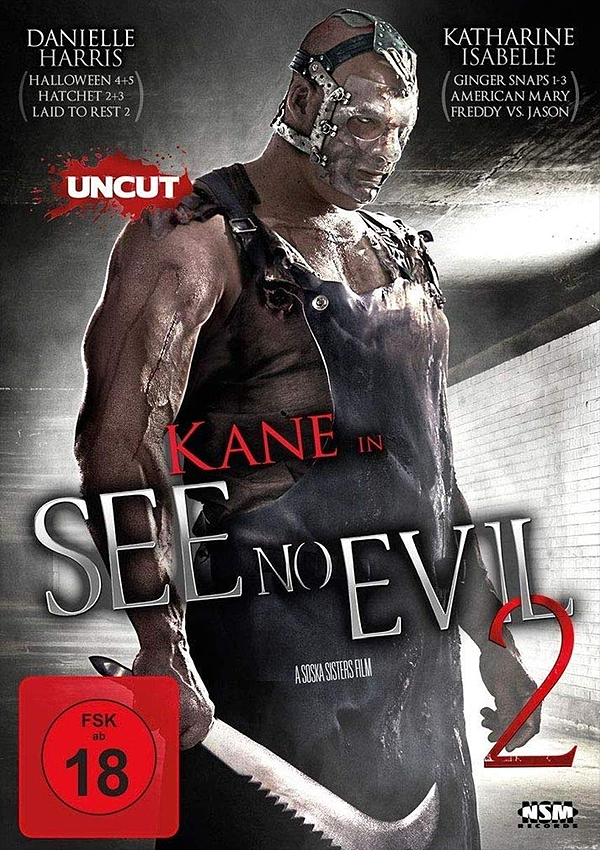 See No Evil 2 - Blu-ray DVD Cover FSK 18