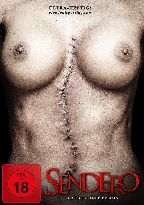 Sendero - Blu-ray DVD Cover FSK 18