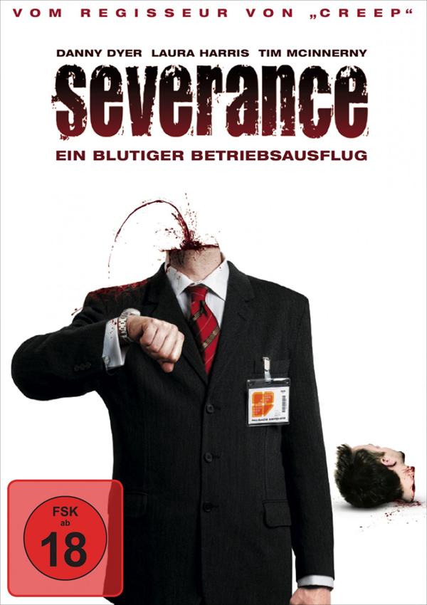 Severance - DVD Blu-ray Cover FSK 18