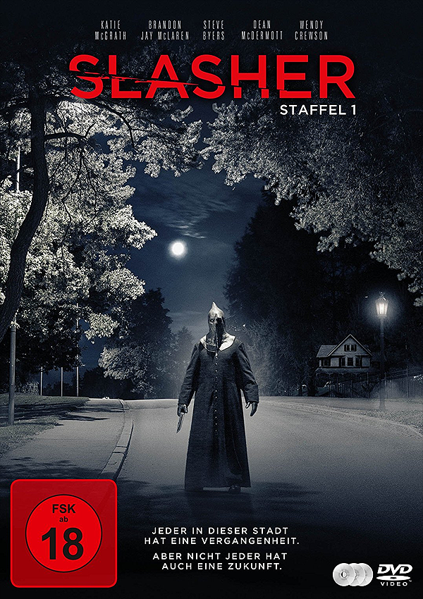 Slasher (Staffel 1) - DVD Blu-ray Cover FSK 18