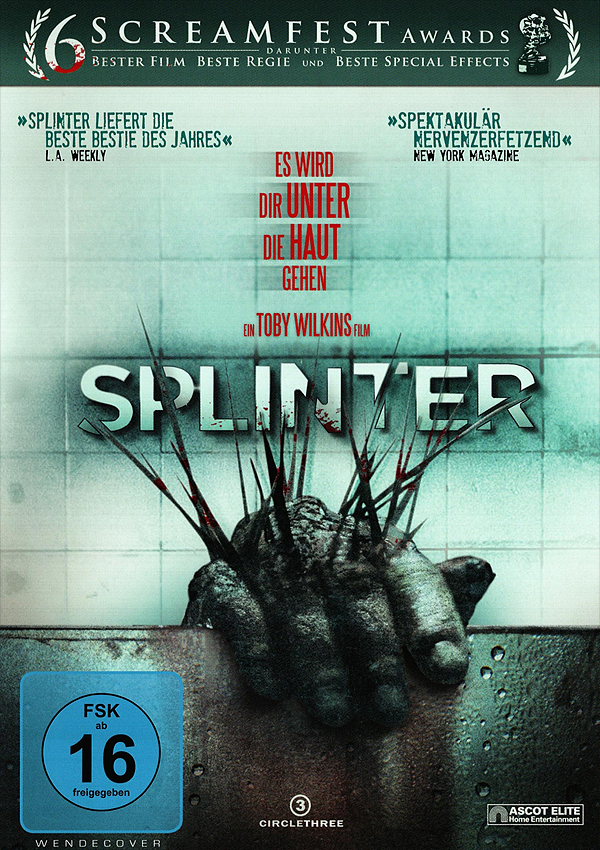Splinter - Blu-ray DVD Cover FSK 16